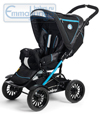 Emmaljunga Scooter Black Blue