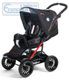 Emmaljunga Scooter Black Red