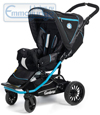 Emmaljunga Scooter S Black Blue