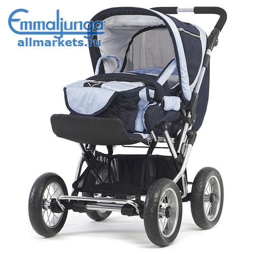 Emmaljunga Cerox sport stroller - прогулочная коляска, цвет 2009 Black.