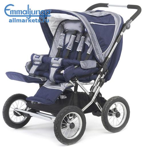Продам коляску для двойни Emmaljunga Twin Cerox.